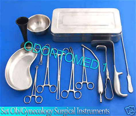 c section surgical instruments c section cesarean section set ob gynecology instruments