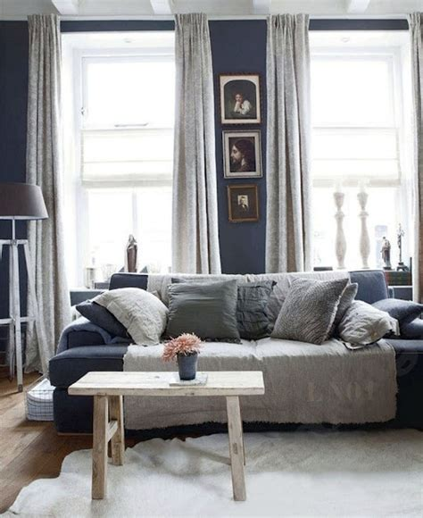 Living Room Blue Grey Blue And Grey Living Room Decore