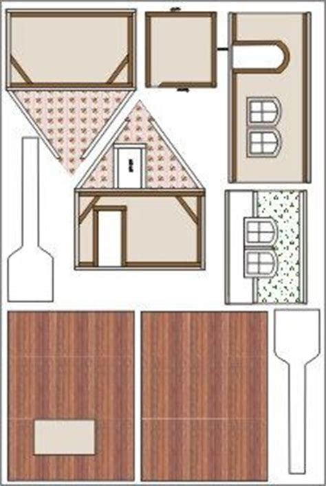 dollhouse template woodworking projects plans
