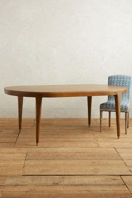 walcotte dining table oval anthropologie