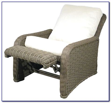 Patio Recliner Chair Ottoman Patios Home Design Ideas Patio Chairs With Ottomans