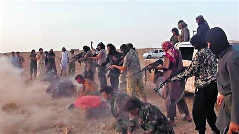 por isis lleg la otra masacre yihadista en siria ejecutan a m 225 s de 200 soldados