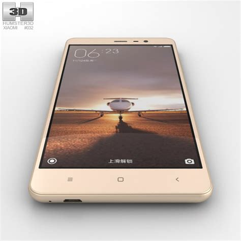 Promo Xiaomi Redmi Note 3 Pro 332 Gold Bonus 1 xiaomi redmi note 3 gold 3d model hum3d