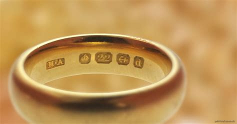 Wedding Ring Makers Uk by Gold Hallmark Identification Wizard