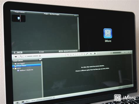 Imovie For Mac Updated With Older Video Card Fix Updating Improvement Imore Imovie Templates For Mac