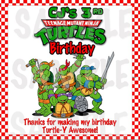 Ninja Turtle Pizza Box Label Free turtles clipart pizza pencil and in color