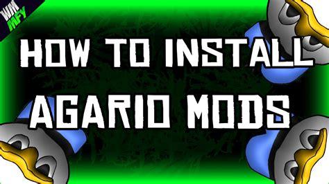 mod game agar io how to install mods on agar io agario agar io tutorial