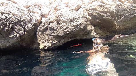 grotte de la chambre d amour la grotte bleue morgiou