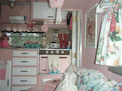 Vintage Camper Decorating Ideas Vintage Campers Decorating Featured Trailer Pink