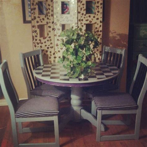 refinish kitchen table and chairs refinished kitchen table and chairs by asharale on deviantart