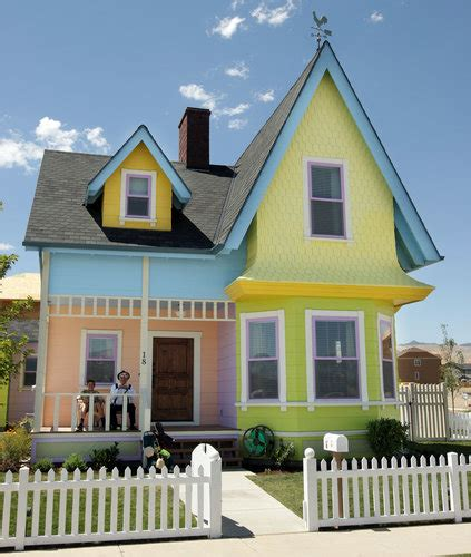 real life house from up disney allows reproduction of up house in utah the new york times