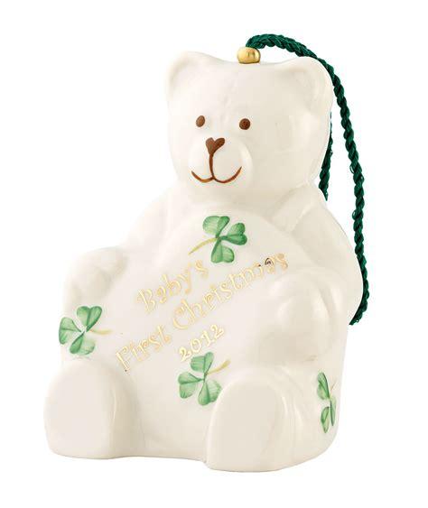 irish christmas belleek baby s 1st christmas 2012