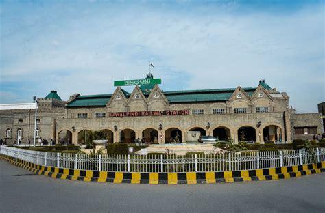 railway station rawalpindi pakistan photography