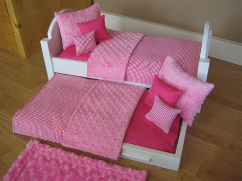beds for dolls american girl doll bed trundle bed 18 inch doll by