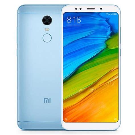 Xiaomi Redmi 5 Plus 4 64 Black Blue Garansi 1 Tahun xiaomi redmi 5 plus 5 99 inch 4gb 64gb smartphone blue