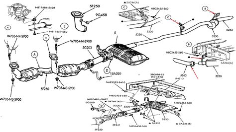 Ford Windstar Exhaust System Diagram, ford windstar