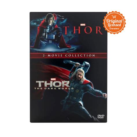 judul film thor jual marvel thor 2 movie collection dvd film box set