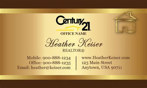 Century 21 Gift Card - custom card template 187 century 21 business cards template free card template