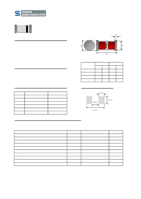 melf diode polarity ll4148 datasheet datasheets manu page 1 500mw high speed smd switching diode tsc pdf