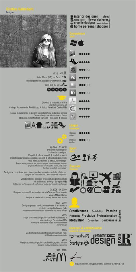 curriculum vitae best design want to have your own cool infographic resume go to http