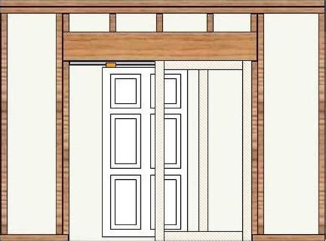 Pocket Door Opening by In Framing With Pocket Door Framing And Pocket Door