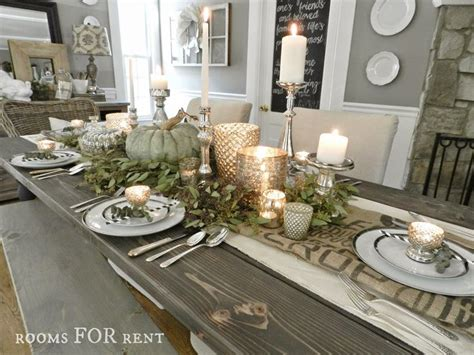 elegant tablescapes dining room tablescapes pinterest rooms for rent mercury glass thanksgiving tablescape