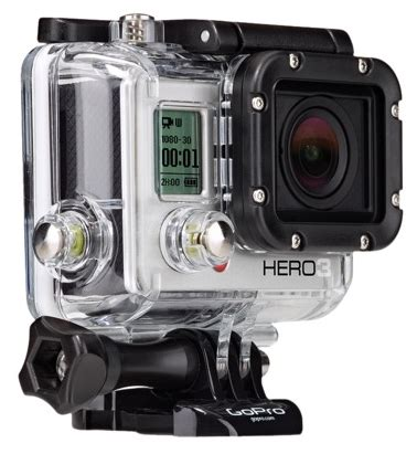 gopro hero3 white edition camcorder just $199.99 + free