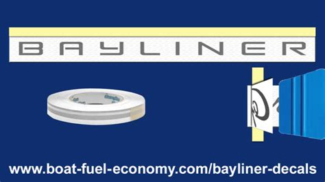 installing boat decals bayliner decals where to buy how to install stickers