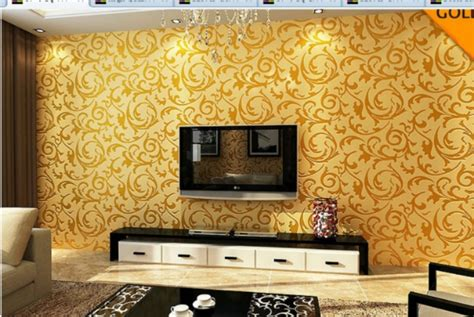 WALLPAPER APPLIQUE PATTERN WALL STICKERS TV BACKGROUND for