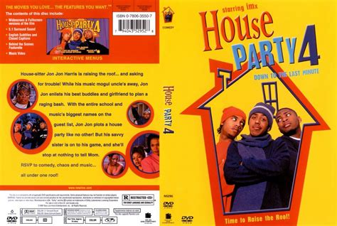 house party 4 down to the last minute 2001 house party 4 down to the last minute movie dvd scanned covers 1322house party 4