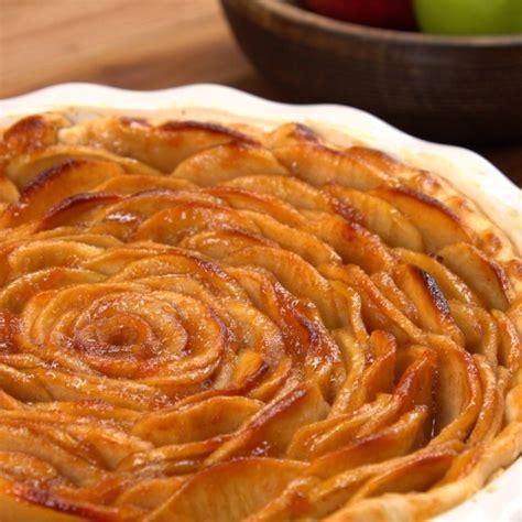 decorative apple roses apple rose pie recipe video tiphero