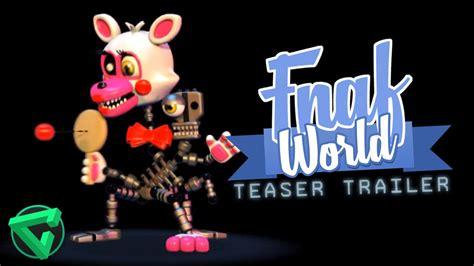 s day teaser trailer fnaf world teaser trailer v 237 deo reacci 243 n