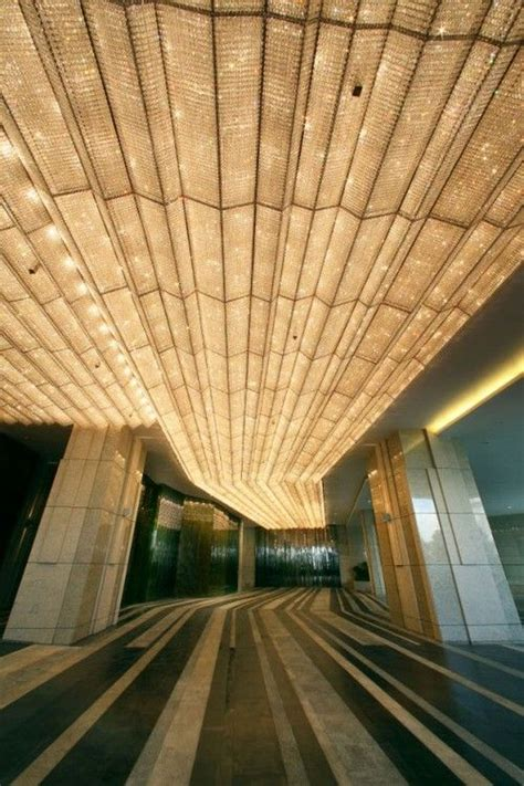 Amazing Ceiling Design by Beautiful Gold Light Amazing Ceiling Design And Depth Architecture Photography Design