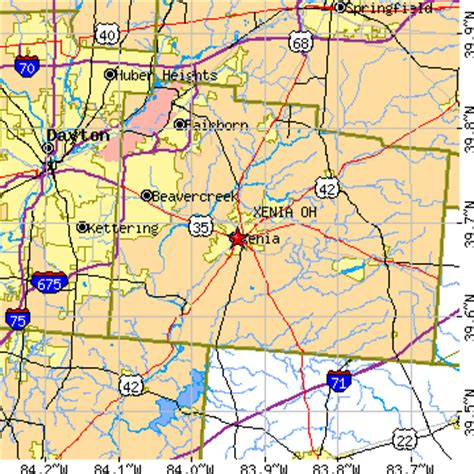 map of ohio xenia xenia oh pictures posters news and on your