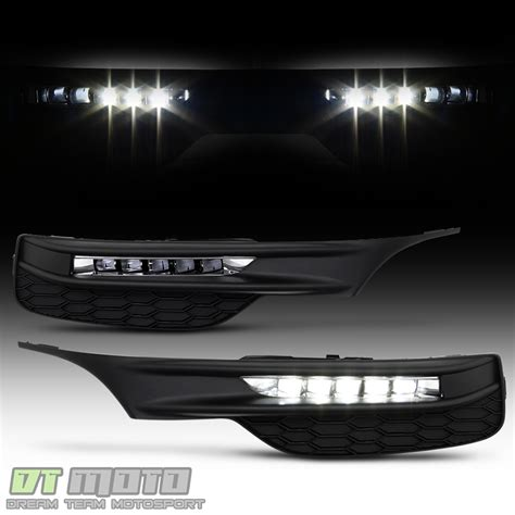 2017 honda accord fog lights for 2016 2017 honda accord sedan led bumper fog lights