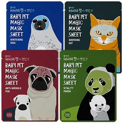 pug care sheet buy baby pet mask sheet best korean products