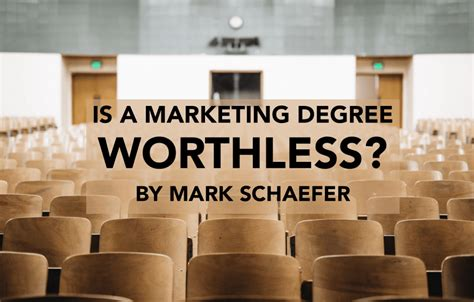 Mba Education Is A Waste Of Money Extempore by Is A College Marketing Degree Worthless Schaefer