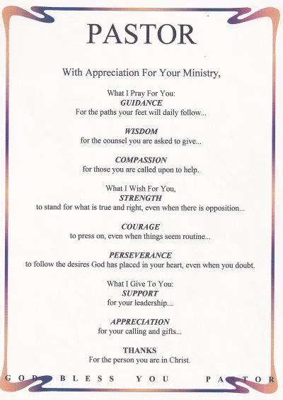 appreciation letter pastor 39 best minister appreciation ideas images on