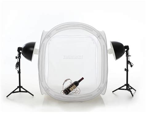 Softbox Lighting by 80cm Softbox Cube Tent Photo Studio 135w Continuous Light