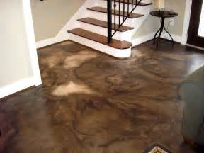 how to color concrete 25 best ideas about stained cement floors on
