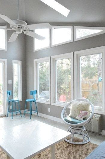 how to paint high vaulted ceilings gray room ideas