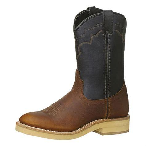 mens roper boots sale s 10 quot ad tec 174 roper boots black brown 303812