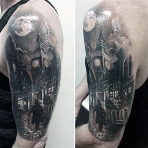 tattoo london road gravesend 50 big ben tattoo designs for men clock ink ideas