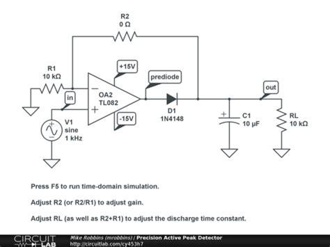 diode peak detector pic conflicting impedancies in peak detector electrical engineering stack exchange