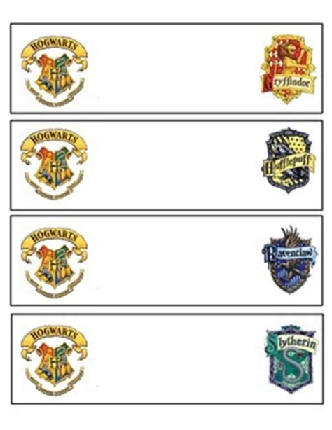 printable harry potter name tags harry potter nametags by allie dorsey teachers pay teachers