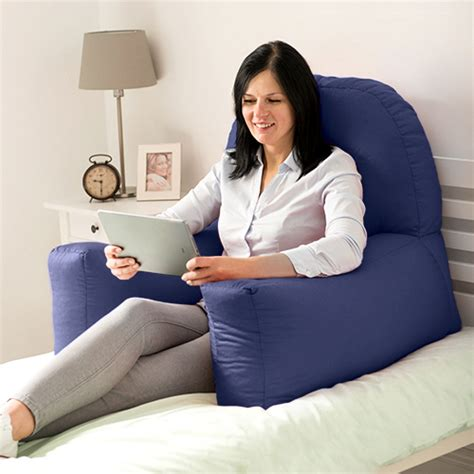 pillow to read in bed chloe bed reading bean bag cushion arm rest back support