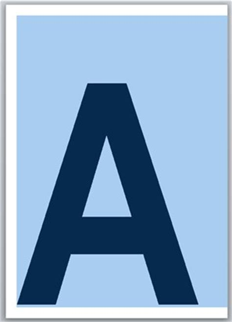 printable letters one per page letters of the alphabet print 1 character per page