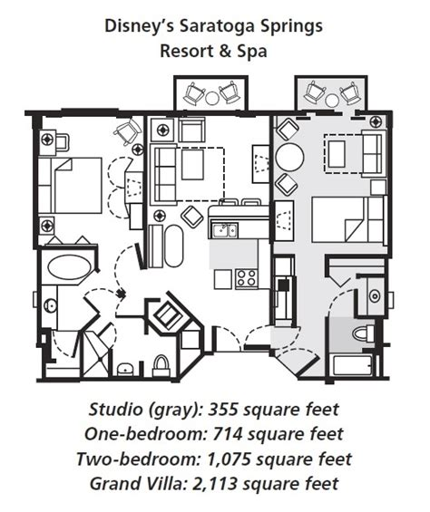 saratoga springs disney floor plan saratoga springs disney treehouse villas floor plan