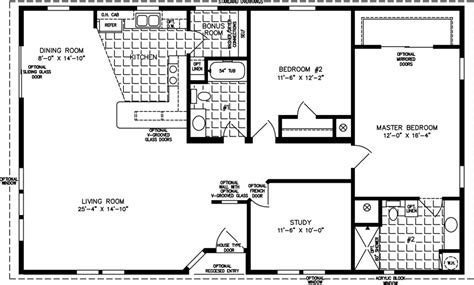 1400 square foot house plans 1400 to 1599 sq ft manufactured home floor plans