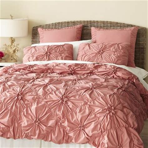 rose color comforter set euro pillows peach bedding and colors on pinterest